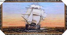 Картина гобелен 60х120 Парусник / M022 / JM317-1G /