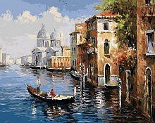 Картина для раскрашивания Венеция 40х50см / GX8606 /
