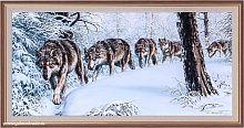 Репродукция картины 33х70 Тропа волков 27 / K2720D-45R /