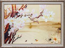 Репродукция картины на холсте 45х65 Цветы / KS4821-3 /на подрамнике