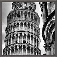 Постер Европа.Пизанская башня (Италия) 30х30 см