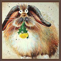 Постер Кролик 30х30 см