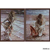 Постер из двух картин У моря 30х40 см