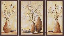 Постер из трех картин Керамика (30х40 см-1см,20х40см-2 штуки)