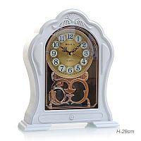 Часы настольные / T2897 /уп 20/белые