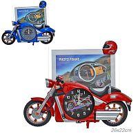 Часы фоторамка Мотоцикл / PF007A /уп 60/