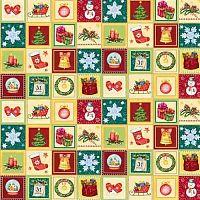 Упаковочная бумага для сувенирной продукции в рулонах, мелованная с двух сторон, с полноцветным декоративным рисунком, плотность 80 г/м2 / ПП рулонсм