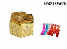 Коробка подарочная складная  7/UV-0251 /уп20/1500/