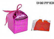 Коробка подарочная складная / 3/UV-060 /уп20/1500/ АКЦИЯ