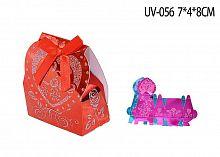 Коробка подарочная складная / 8/UV-056 /уп20/1500/ АКЦИЯ