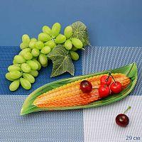 Блюдо для нарезки 29 см Кукуруза/ Малая / 1067-Z387/ Акция без упаковки