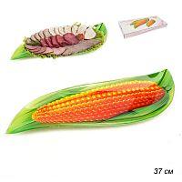 Блюдо для нарезки 37 см Кукуруза / Большая / 1067-Z387/ Акция подарочная упаковка