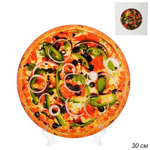 Блюдо для пиццы 30 см / S3012W S203 /уп 12 /