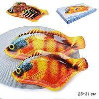 Блюдо для сервировки 2 предмета Рыба  / FH02/2 M234 /уп.12/