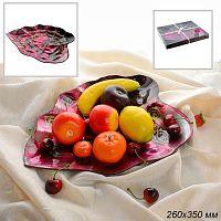 Блюдо для фруктов 26х35 см подарочная упаковка 10084B /уп.12/АКЦИЯ