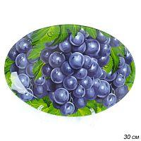 Блюдо овальное 30 см / GREY S450112A P241 /уп.6/36/ Виноград