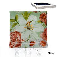 Тарелка квадратная 25 см / 1002T10-Z519 /уп 12/ белая коробка