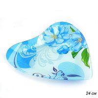 Тарелка Сердце 24 см Средняя / 1052-Z356 / б/уп  Акция