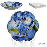 Салатник 20 см Цветок / 1049/1- Z854 /уп 48/ белая коробка