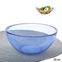 Салатник 1750 мл 20 см стекло фиолетовый АКЦИЯ / PYLY200B /уп.24/