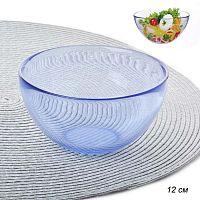 Салатник 320 мл 12 см стекло фиолетовый АКЦИЯ / PYLY120B /уп.36/