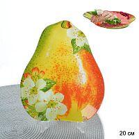Тарелка для сервировки 20 см Груша Акция PR01/3 M211 /уп 12/Б/УП