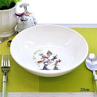 Тарелка суповая 20 см Соната Повара / 062 /уп 12/ гр 8