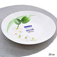 Тарелка суповая 20 см Уайт Орхид / J7493/N5034/P6437 /уп 24/