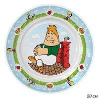 Тарелка 20 см Малыш и Карлсон / КРС-365 /уп 12/ малая, керамика