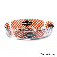 Блюдо 30х21 см O Cuisine / 345BC00/1044 /уп 4/ овальное