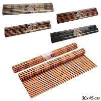 Салфетка из бамбука на стол 2 штуки / L006# /уп 100/