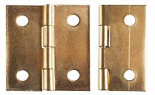Петля для шкатулки 24х24 H-20 золото (1000шт)