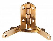 Петля с ограничителем открывания 30х32 H-05 золото (200шт)